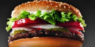 Burger King et son Whopper