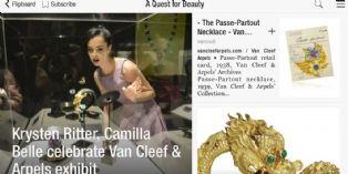 Van Cleef & Arpels, premier magazine de marque sur l'application Flipboard
