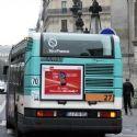 L'affichage sur les bus plébiscité
