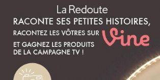Bilan du jeu-concours La Redoute sur Vine