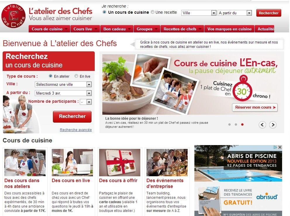 Conversion Cuisine | Etude De Cas L Atelier Des Chefs Multiplie Son Taux De Conversion