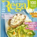 Le magazine 'Régal' agrémente sa formule