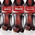 Coca-Cola personnalise sa bouteille sur M6