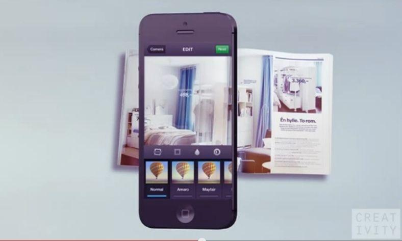 ikea fait recr er son catalogue papier par ses fans sur instagram. Black Bedroom Furniture Sets. Home Design Ideas