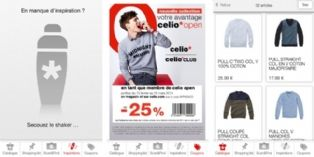 Celio sort sa nouvelle application mobile