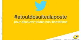 La Poste met en avant ses innovations via Twitter