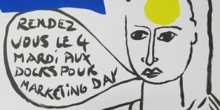 L'invitation au Marketing Day par JCDC