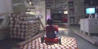 Quand Ikea s'inspire de Shining et récompense ses clients les plus téméraires