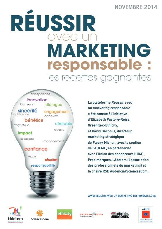 les 6 recettes gagnantes du marketing responsable