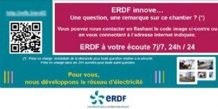 ERDF recueille la satisfaction des riverains