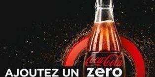 Coca-Cola zero propose d'ajouter un zéro