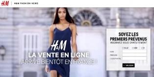 Lancement imminent du site marchand de H&M