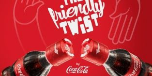 Coca-Cola The friendly twist