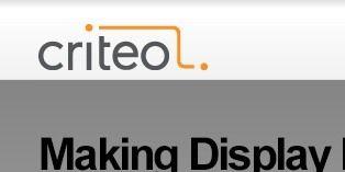 Criteo dispose désormais d'un nouveau moteur prédictif assurant une meilleure efficacité des publicités en ligne.