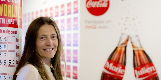 Céline Bouvier, directrice marketing de Coca-Cola France.