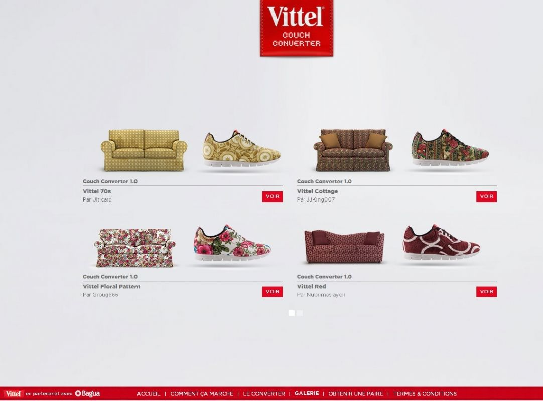 Comment Customiser Une Boite A Chaussure vidéo] vittel transforme les canapés en chaussures