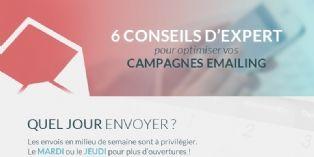 6 conseils d'expert pour optimiser vos campagnes emailing