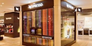 Nespresso Cube : la nouvelle boutique high-tech de Nespresso
