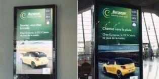 Europcar s'affiche en fonction de la météo