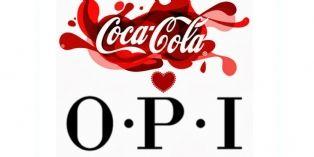 Cobranding : Les vernis OPI aux couleurs de Coca-Cola Company