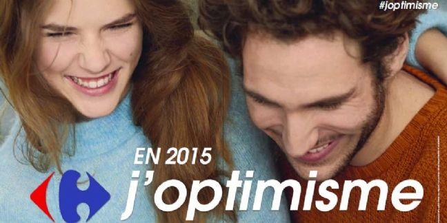 J'optimisme : la nouvelle signature de Carrefour