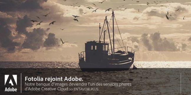 Rachat de Fotolia: Adobe Creative Cloud étoffe son offre