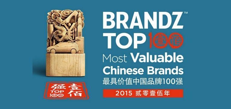 brandz le top 100 des marques chinoises les plus puissantes