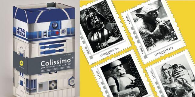 La Poste, du bon côté de la force avec Star Wars