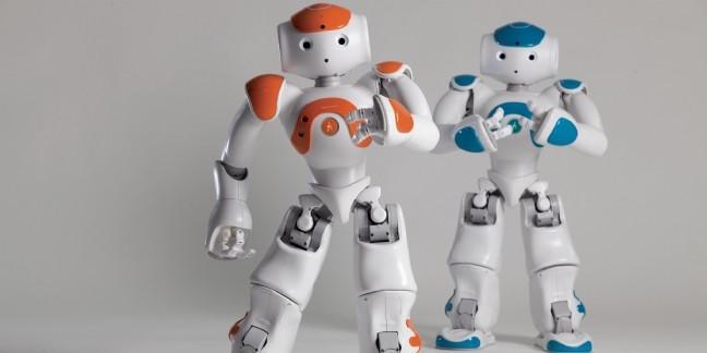 Récemment, on a vu le robot Nao (Aldebaran Robotics) chez Sephora Flash, Darty ou Carrefour en Espagne.