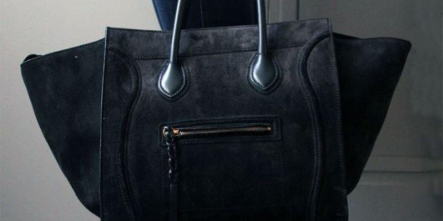 Le Céline Phantom Handbag en vente sur InstantLuxe