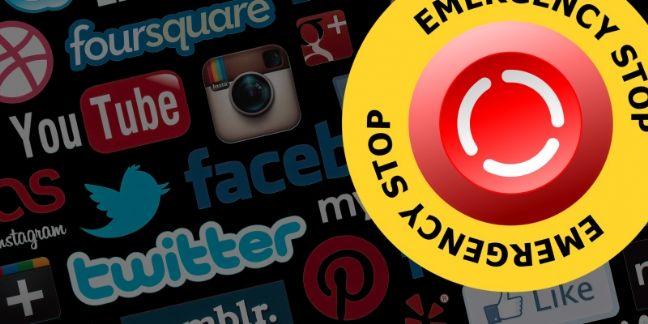 À quand un bouton 'arrêt d'urgence' sur les réseaux sociaux ?
