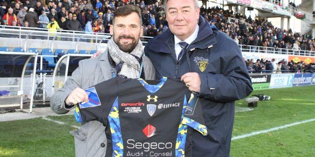Segeco s'est engagé comme partenaire principal de l'ASM Clermont-Auvergne exclusivement dans le cadre des matchs de coupe d'Europe.