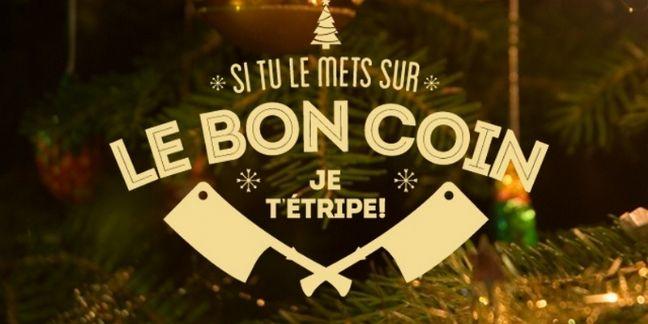 Papier cadeau anti esprit de Noël par Golem13