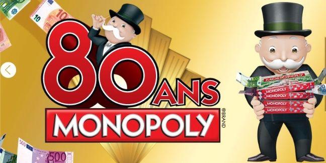 Monopoly cache de vrais billets dans ses boîtes pour ses 80 ans