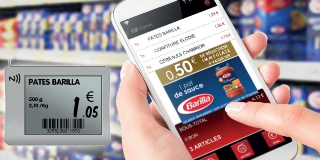 Intermarché digitalise les courses en magasin