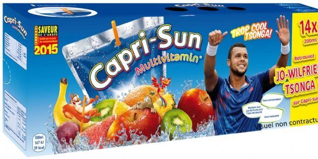 Tsonga : nouveau visage de Capri-Sun (Coca-Cola)