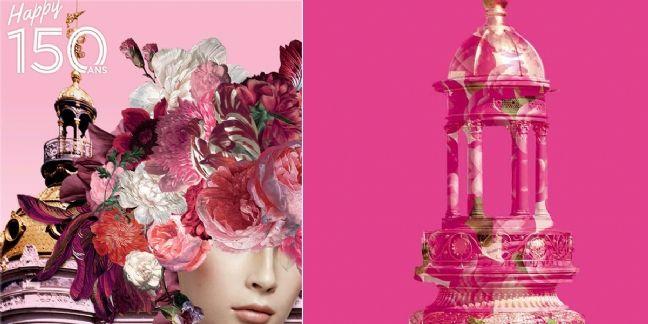 Des fleurs pour les 150 ans du Printemps