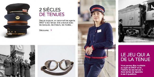 SNCF offre un défilé digital à ses uniformes
