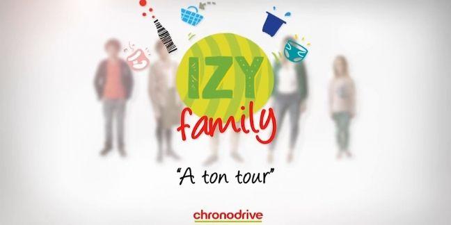 Chronodrive lance la web-série 'IZY Family'