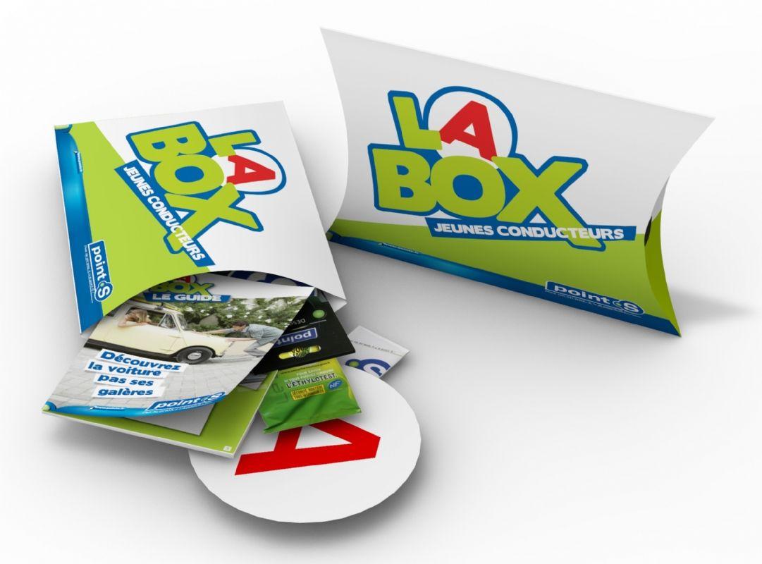 point s lance la campagne la box jeunes conducteurs. Black Bedroom Furniture Sets. Home Design Ideas
