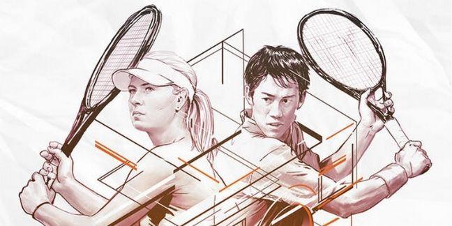 TAG Heuer filme un défi de tennis devant sa boutique sur Periscope