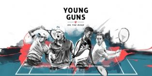 [Marketing Sportif] Tecnifibre lance ' Young Guns On The Road '