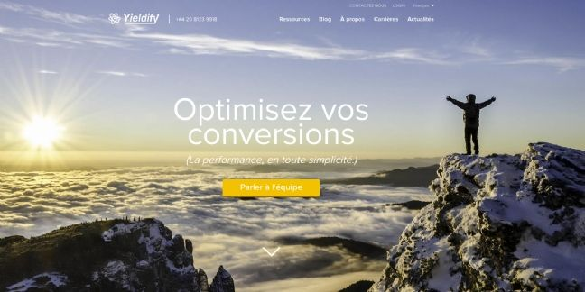 Google Ventures et Softbank Capital investissent plus de 10 millions d'euros dans la start-up Yieldify