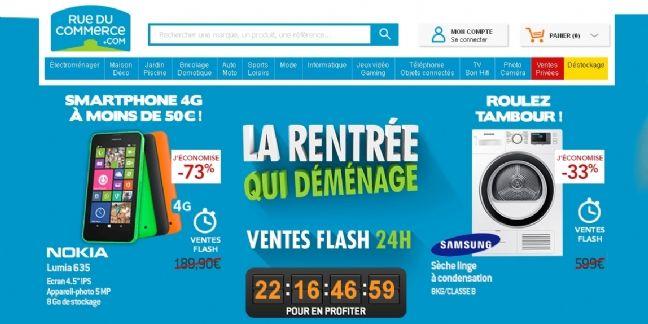 Carrefour sur le point de racheter Rue du Commerce