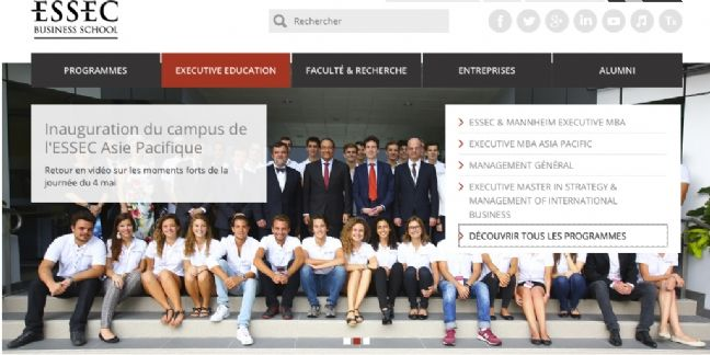 L'Essec recherche un intervenant en marketing digital