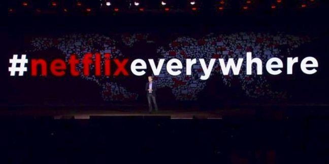 [EXCLU CES 2016]Netflix annonce son lancement dans 130 pays
