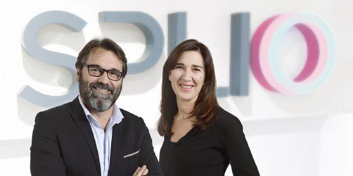 Raphaël Jore, président et co-fondateur, et Mireille Messine, directrice générale de Splio