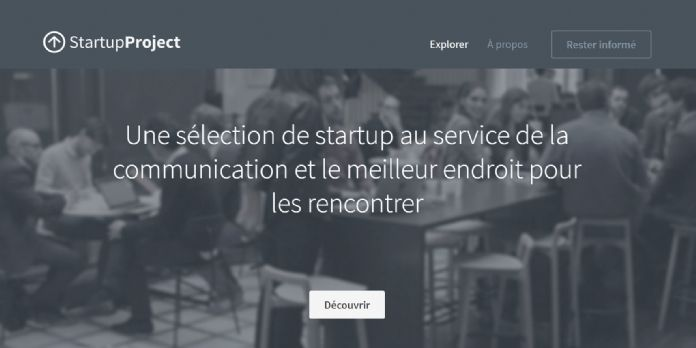 Startup Project, la marketplace d'incubation de la com'
