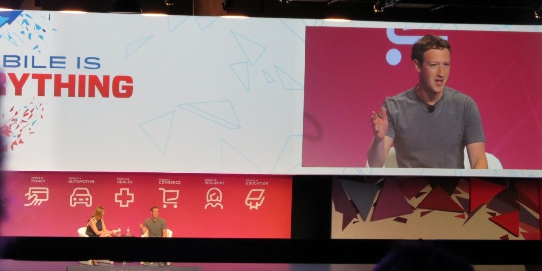 [MWC2016] Mark Zuckerberg confirme ses ambitions du tout Internet