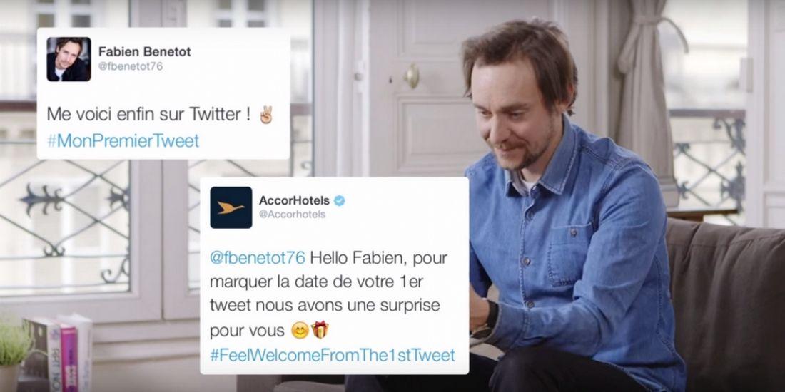 AccorHotels accueille les nouveaux arrivants sur Twitter